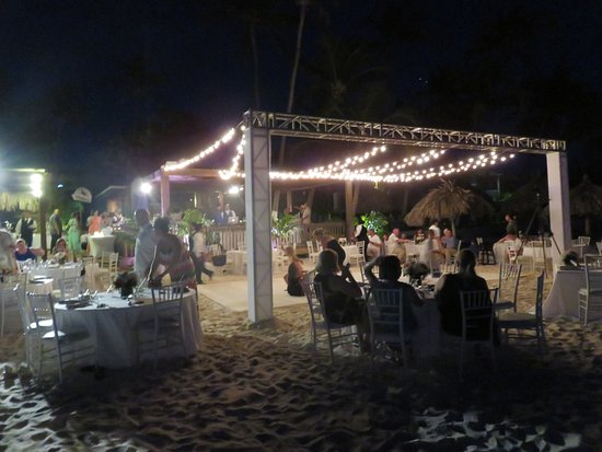 Divi Aruba All Inclusive Wedding Reception Area At Sandpiper Bar