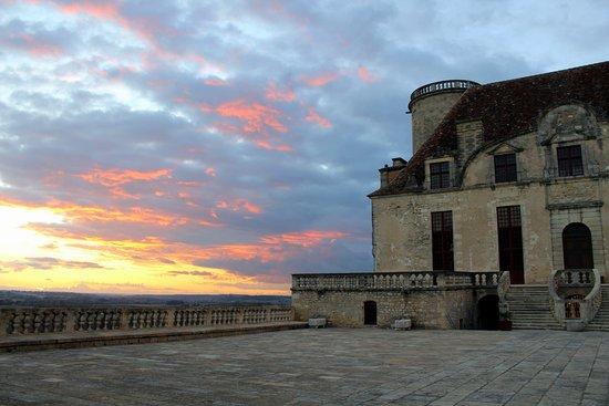 Duras, Francia: Magnifique coucher de soleil...