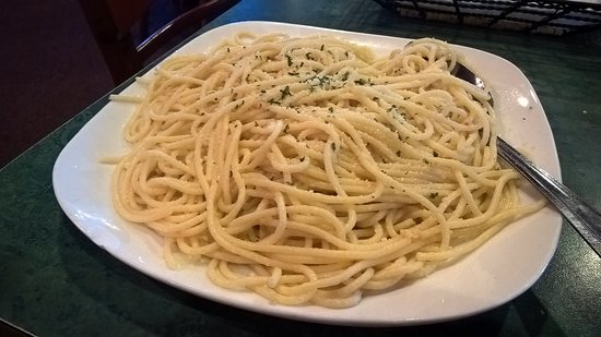 Perry, FL: My garlic and oil pasta