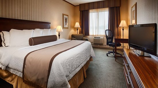 Best Western Plus Fairfield Executive Inn: Standard King Room