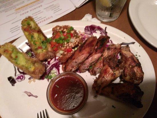 J Mark's Restaurant & Bar: Blt sandwich, egg rolls, shrimp pasta, chicken tenders