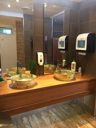 Clean upscale bathrooms! - Picture of Rancho Chito Restaurant ... on
