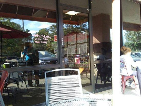 Java Cafe: Outside Seating