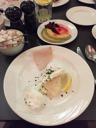 Hotel Indigo Glasgow: Excellent breakfast at the hotel!