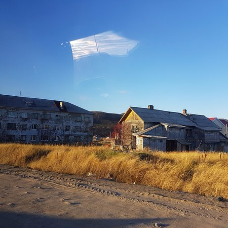 Murmansk Oblast, Russia: More of the houses