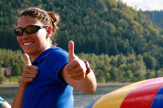 Celles-sur-Plaine, Fransa: L'ambiance est toujours top au Pôle Sports Nature