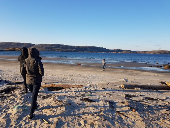 Murmansk Oblast, Russia: The Barents Sea and the beach