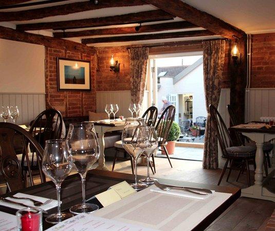 Dining Room at The Alderton Swan