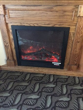 Adobe Resort: Fabulous FAKE Fireplace
