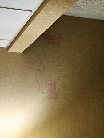 New Hartford, NY: stains on the walls