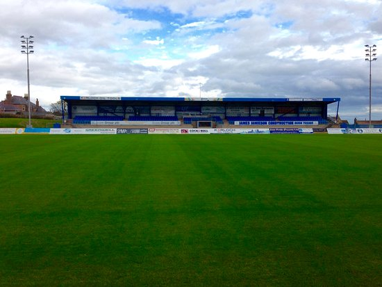 Peterhead, UK: Balmoor Stadium