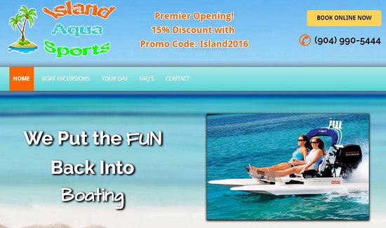 Green Cove Springs, ฟลอริด้า: Web site page, Log on and start putting the fun back into Boating