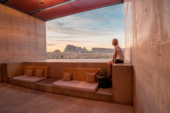 Beautiful breezeway views Picture of Amangiri Big Water