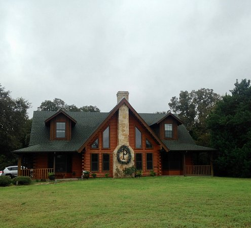 Athens, TX: The owner's house