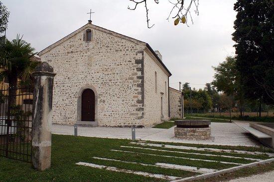 """Cappella Maggiore, Italia: Facciata (lato Ovest) """"Mattarella"""" XV Sec., Nov2016"""
