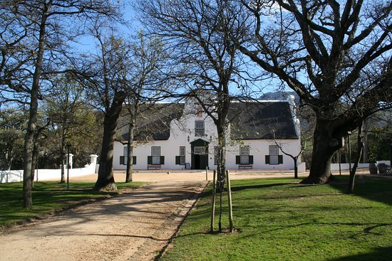 Constantia, Sudáfrica: The main house.