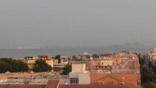 Hotel Traina: vista desde la terraza del hotel