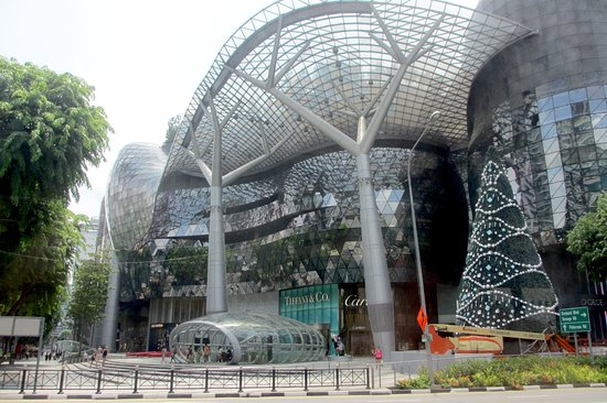Entrance Of Ion Shopping Mall On Orchard Road Picture Of Ion Orchard Singapore Tripadvisor