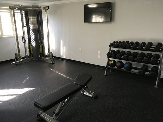 SureStay Plus Hotel by Best Western Lompoc: Fitness Room