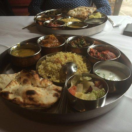 Mala Restaurant Veg Thali