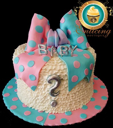 enticing cake boutique having a baby we do gender reveal cakes and baby shower