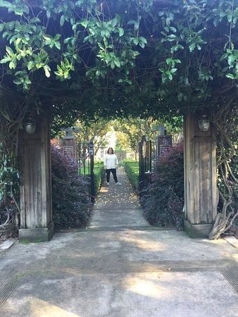 Healdsburg, Kalifornia: Garden Entrance