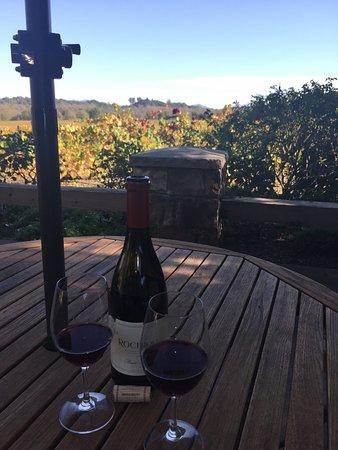 Healdsburg, Californië: Delicious Pinot Noir