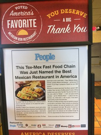 taco bueno best tex mex fast food chain award