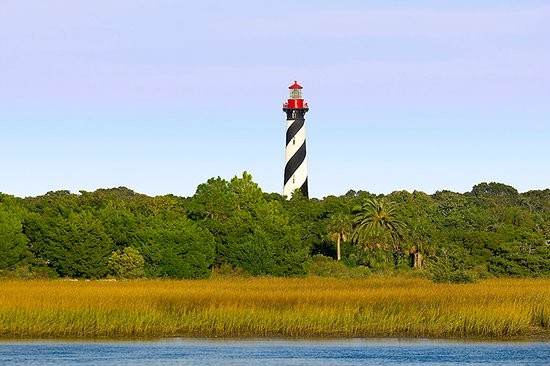 Saint Augustine Beach, FL: Lighthouse from Anastasia State Park