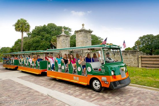 Crescent Beach, FL: Old Town Trolley Tours