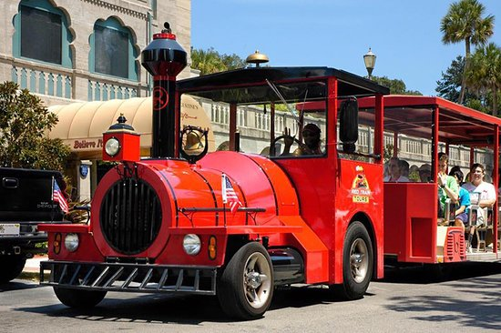 Saint Augustine, FL: Ripley's Red Train Sightseeing Tour