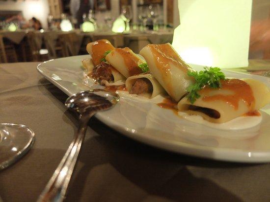 Osteria La Botte Piena: Best pasta we had during our trip
