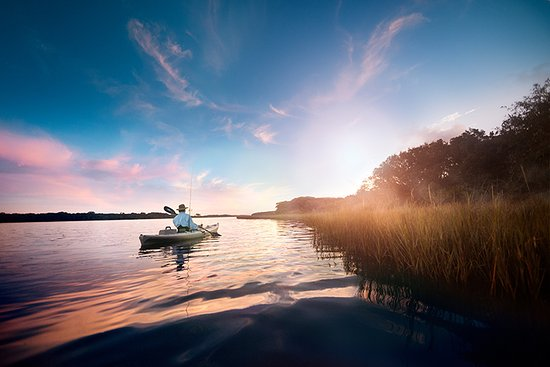 Vilano Beach, FL: Kayak Fishing on Guana River