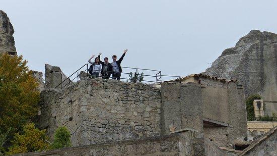 Le Prince Noir : The terrace from below