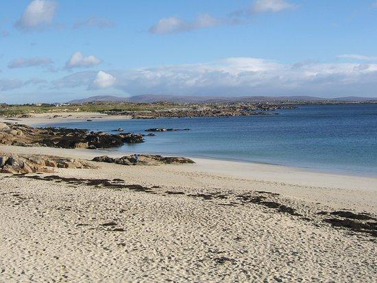 Roundstone, Irlandia: Dog's Bay Beach