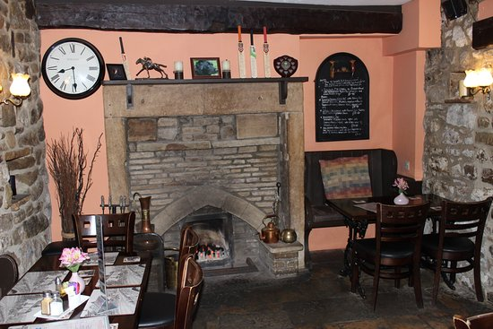 Kettlewell, UK: One of the bar rooms