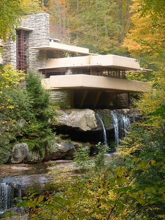 Fallingwater: over the river and through the woods!