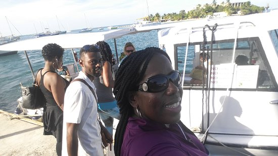 Hotel on the Cay: Boat shuttle!!!!