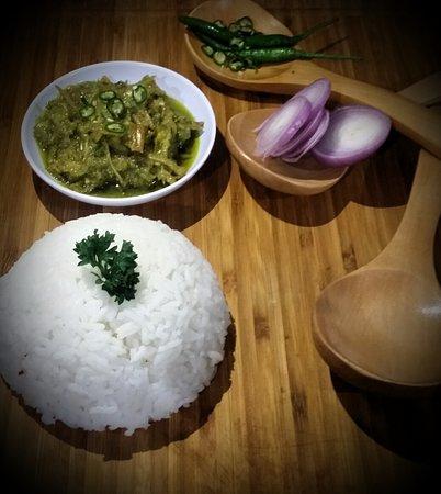 Tapah Station Cafe: Malay Sambal (Chili Mixed)