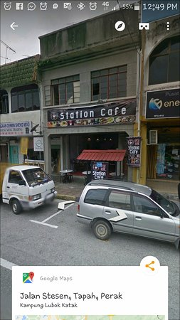 Tapah Station Cafe: from Google Street View