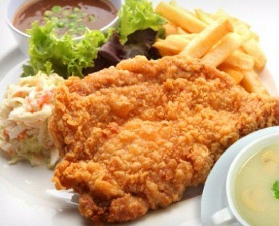 Tapah Station Cafe: Crispy Chicken Chop