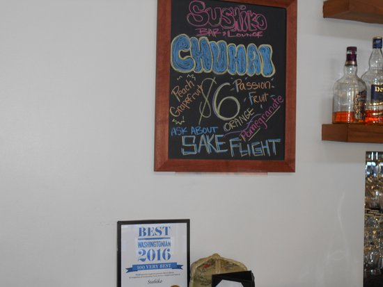 Chevy Chase, MD: Sushi Ko bar specials and Washingtonian Top 100