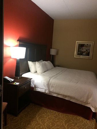 Hampton Inn Gettysburg: Comfy beds!