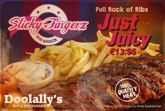 Limassol District, Cyprus: StickyFingerz American Diner @ Doolally's - Limassol Tourist Area