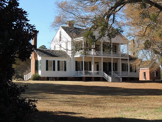 McConnells, SC: The main house in historic Brattonsville