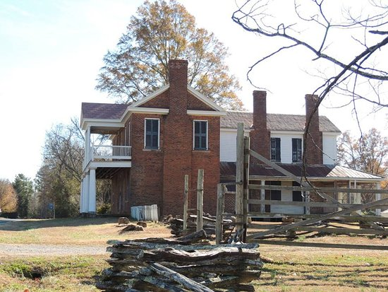 McConnells, SC: One of the houses in historic Brattonsville