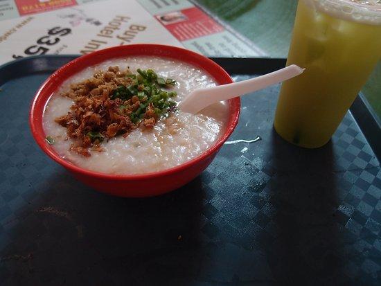 Zhen Zhen Porridge: 豬肉四粥