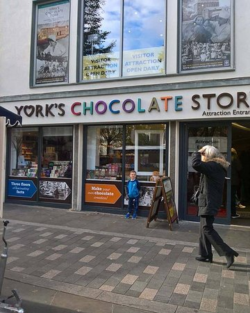 Chocolate Bar Café at York's Chocolate Story: Really enjoyed the tour and the cafe