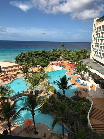 Saint Michael Parish, Barbados: The beach and pool