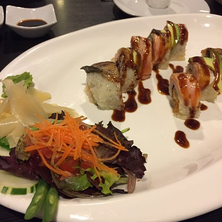 The white tiger roll was made to perfection! We originally came for happy hour which was okay bu